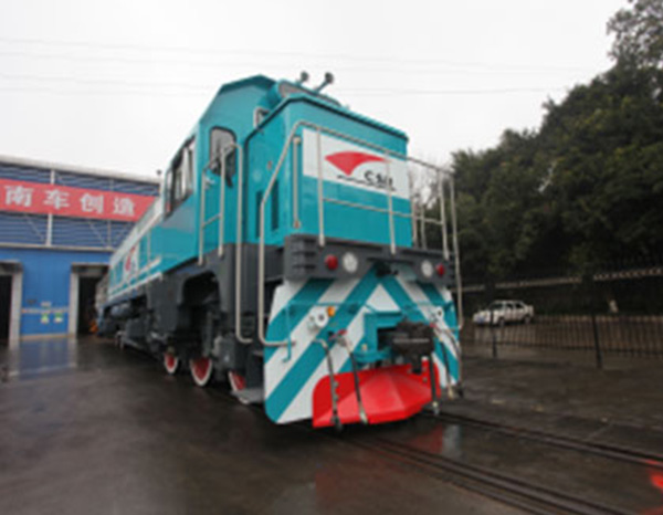 轨道交通混合动力机车电源系统
